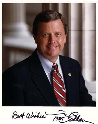 Scan of the letter from Congressman Tom Latham