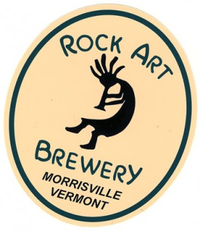 Scan of the sticker from Rock Art Brewery