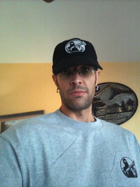 A picture of Phil James in the swag from Mesa Tactical.