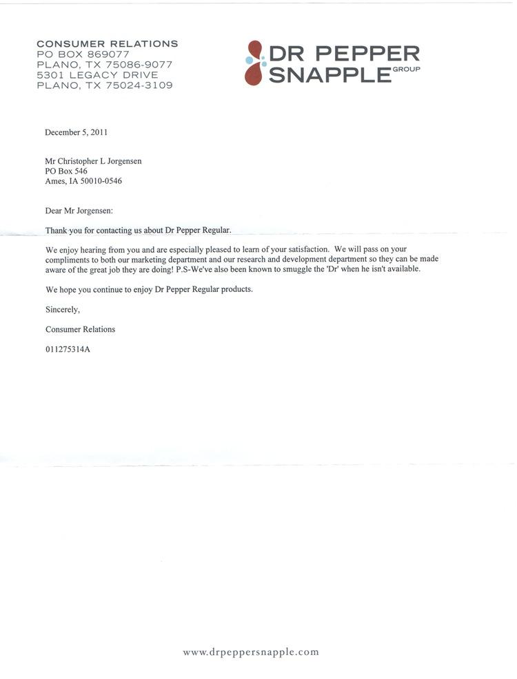 dr letter