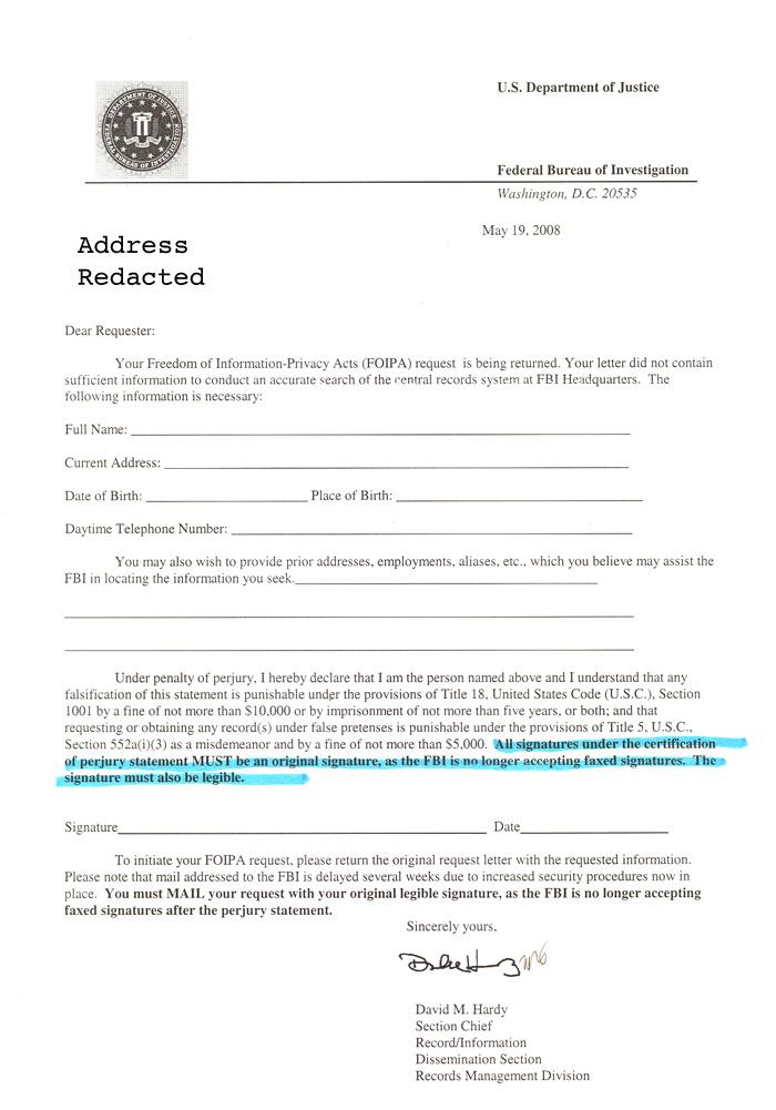 Jackass Letters: Dear FBI