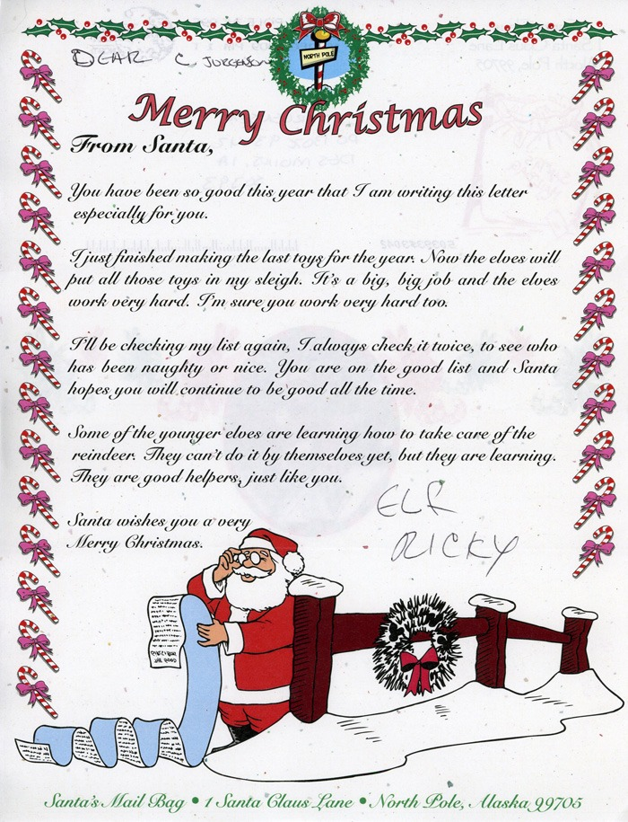 19 inspirational letter from santa in french images complete jackass letters dear santa spiritdancerdesigns