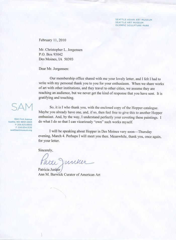 Jackass Letters: Dear Seattle Art Museum