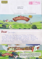 A letter to Turkey Hill Dairy